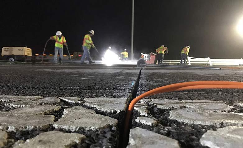 美国多条州际公路铺设道路传感器提升路况监测质量