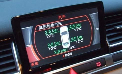 国内汽车胎压监测系统调查:一些车型未配胎压监测系统
