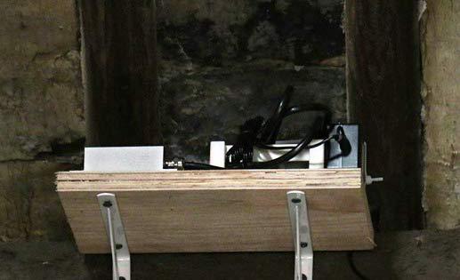 倾角传感器测危房墙体倾斜:承重梁偏离超5度便报警