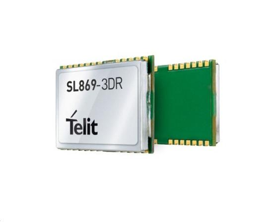 泰利特带航位推算GNSS模块SL869-3DR