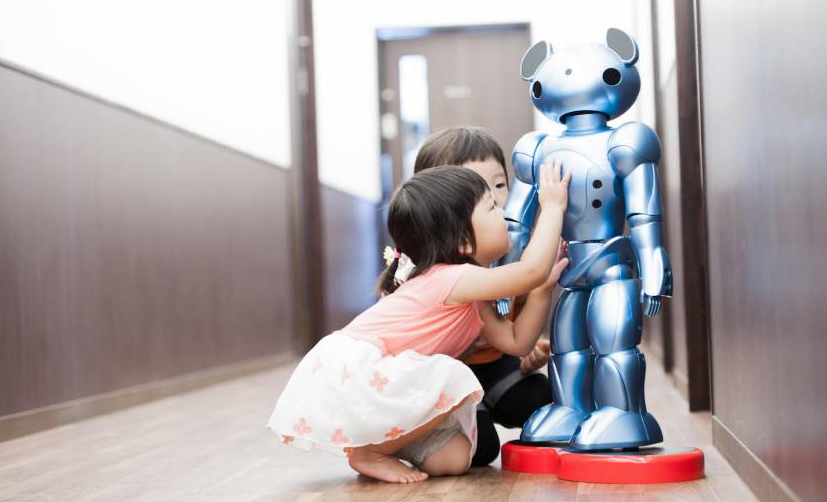 日本推幼儿园看护机器人:借传感器监测心率及身体动作