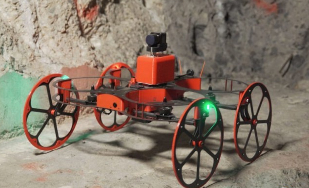 瑞典推出具备传感器定位功能的矿井探测无人机