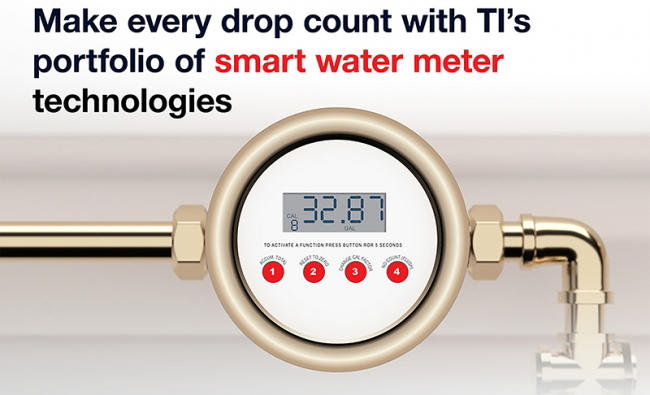 TI推出适应水表智能化需求的超声波单芯片测量芯片