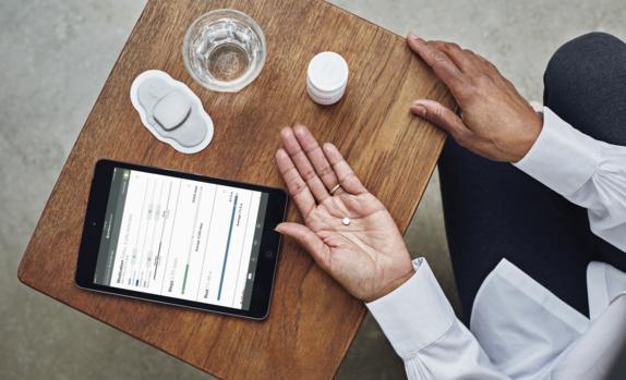 美国首批附带传感器的数字化药片上市