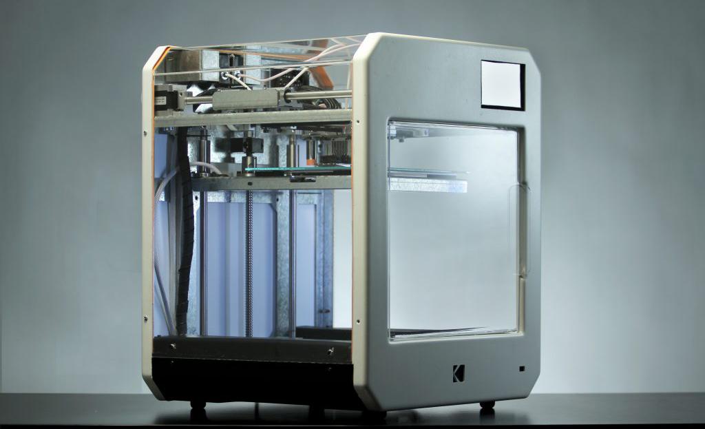 柯达推出首个3D打印机:内置有<font color=red>热敏电阻</font>等传感器