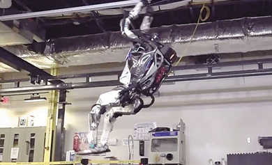 波士顿动力机器人后空翻动作背后的传感器与动力控制算法