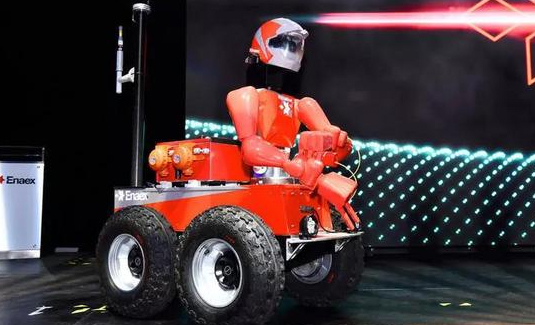 国外开发出一款搭载传感器的RoboMiner采矿机器人