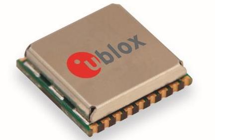 u-blox推出一款市场上最小的汽车级GNSS模块