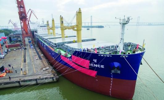 我国建成全球首艘智能船:船上覆盖有五百个传感器