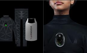日本电商推出智能连体衣:用传感器捕捉人体上万个尺寸数据