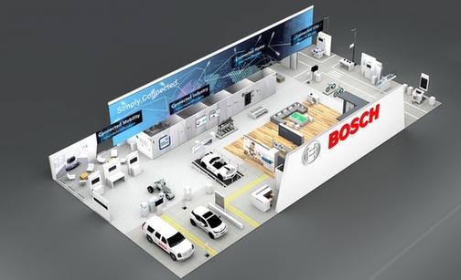 博世将在CES展出旗下传感器新品及物联网解决方案