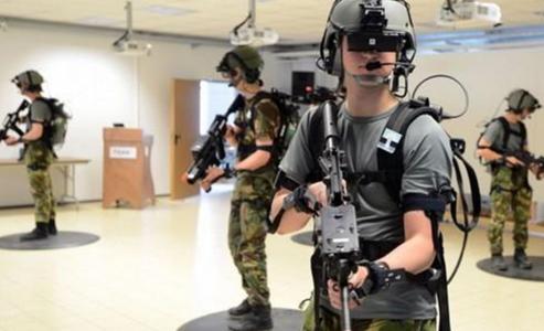 虚拟现实技在未来军事领域应用的重要性应用