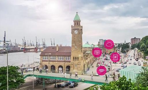 德国电信用无线传感器助力城市数字化停车管理