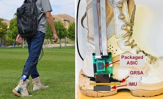 国外团队利用惯性测量传感器开发出可精准导航的靴子