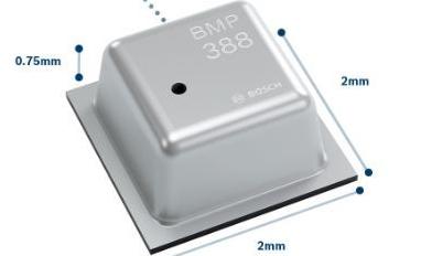 博世推出专为消费级无人机开发的高性能气压传感器