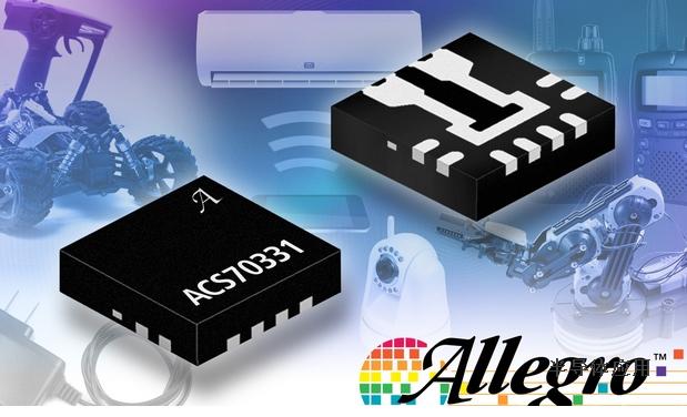 Allegro推出首款完全集成的高灵敏度电流传感器