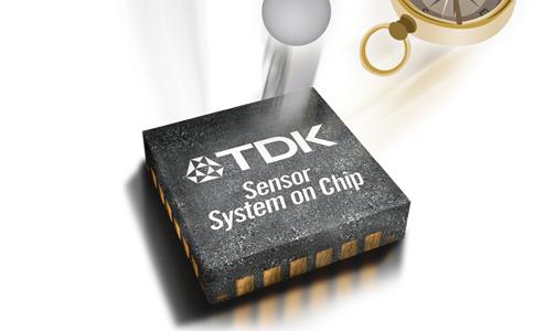 TDK最新推出包含六轴IMU的CORONA系列高级运动传感器
