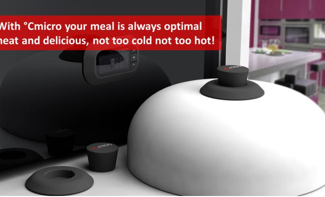 Cmicro温度传感器让你实时监控微波炉中的食物温度