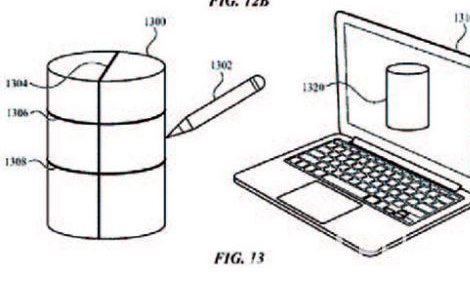 苹果手写笔新专利:内置陀螺仪等传感器可脱离设备书写