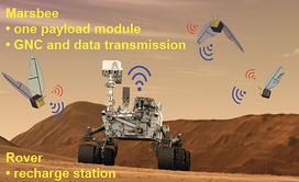 美国航天局拟开发带传感器的火星蜂探索设备