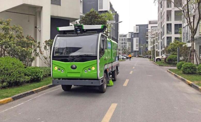 全球首个无人驾驶清洁车队上路:采用了低成本传感器融合方案