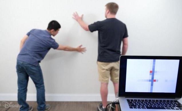 美国研究人员将墙壁改造成一种特殊的交互式传感器