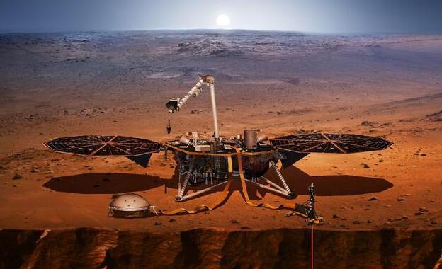 NASA发射新型火星探测器:携温度测量装置测火星内部温度