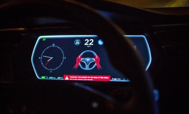 特斯拉曾考虑在自驾系统中加入眼追踪和方向盘传感器