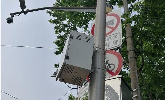 内置传感器的方盒子监测城市小区域内空气质量
