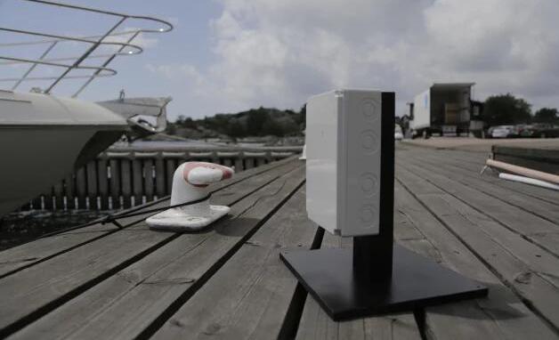 沃尔沃最新自行停靠技术:利用<font color=red>传感器</font>引导游艇安全停靠