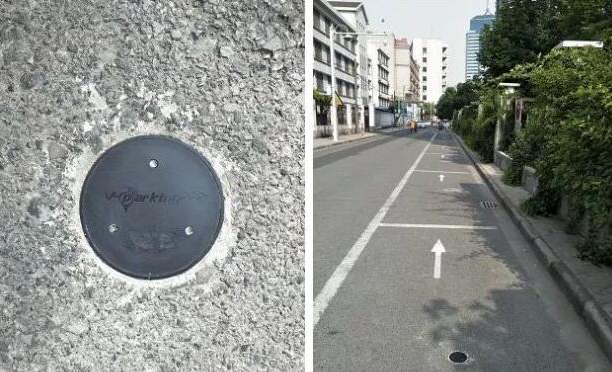 地磁感应技术用在国内智慧停车及智能斑马线系统中