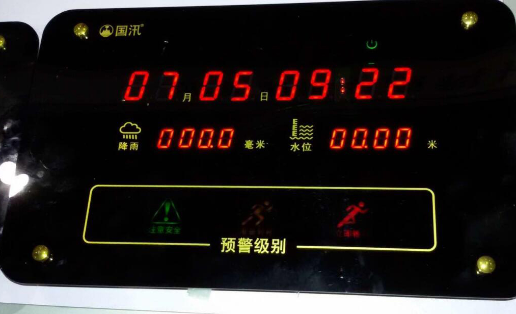 汛期积水监测预警新式设备中的传感器应用