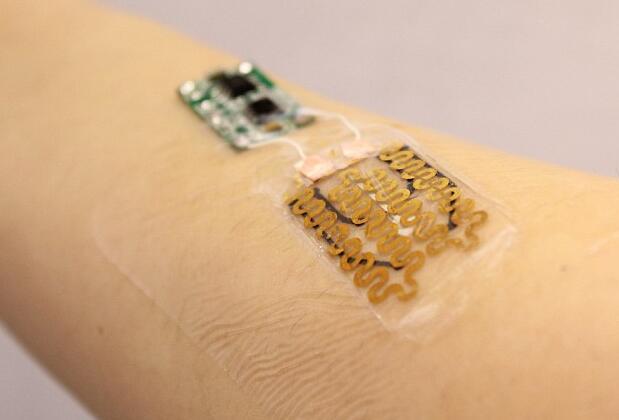新型智能创可贴:可使用传感器追踪伤口愈合情况