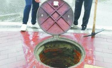 传感设备可监测城市井盖打开的次数和角度数据
