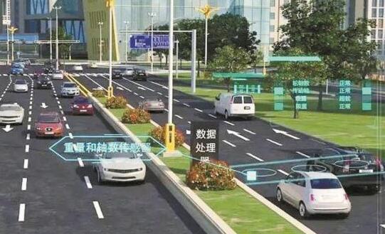 深圳建首条智慧道路:路面传感器可自动感应大货车违章