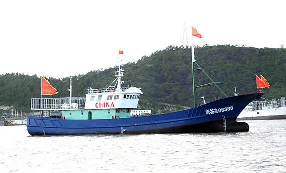 沿海渔船装新型动态监管系统 渔船倾覆传感器会自动报警