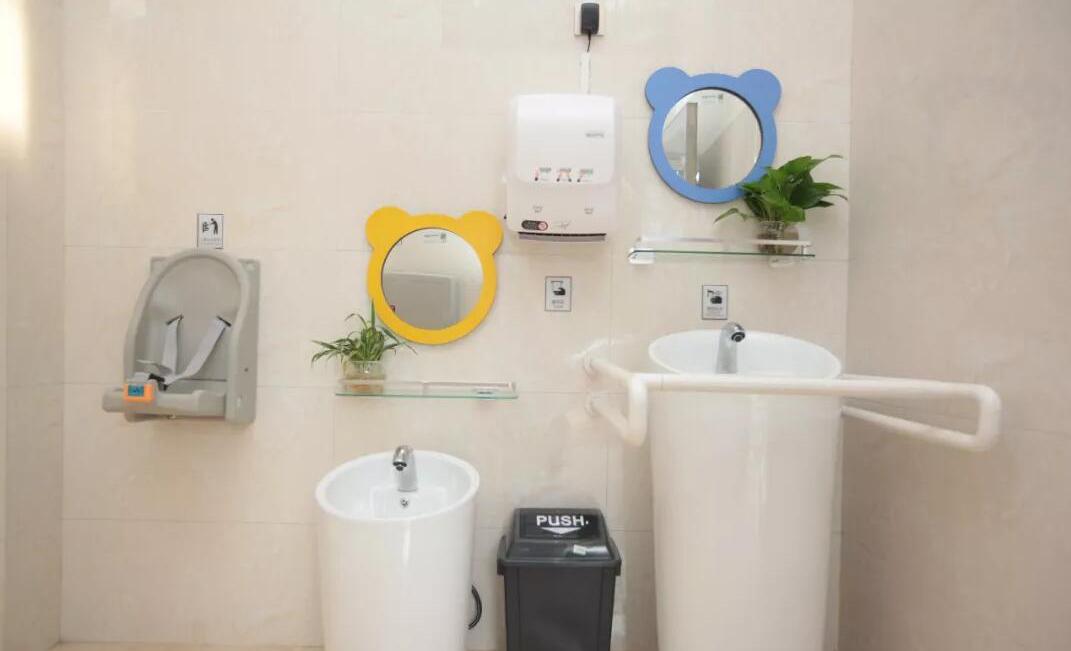 智慧公厕借氨气传感器和温湿度传感器除臭并调整温湿度