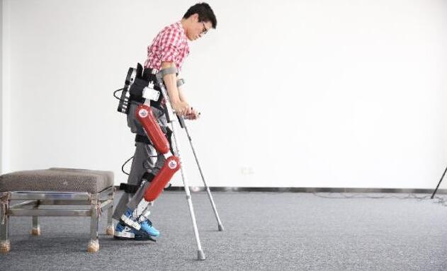 我国第四代外骨骼机器人及其中的传感器运用