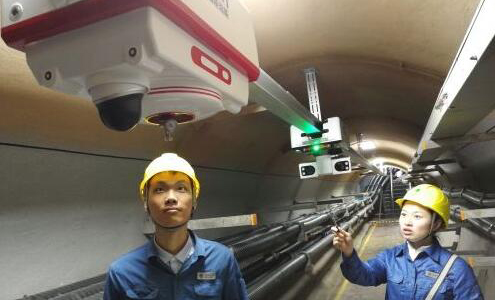 电缆隧道巡检机器人采用电化学传感器监测气体浓度