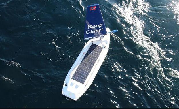 带多种传感器的自动驾驶帆船首次横渡大西洋