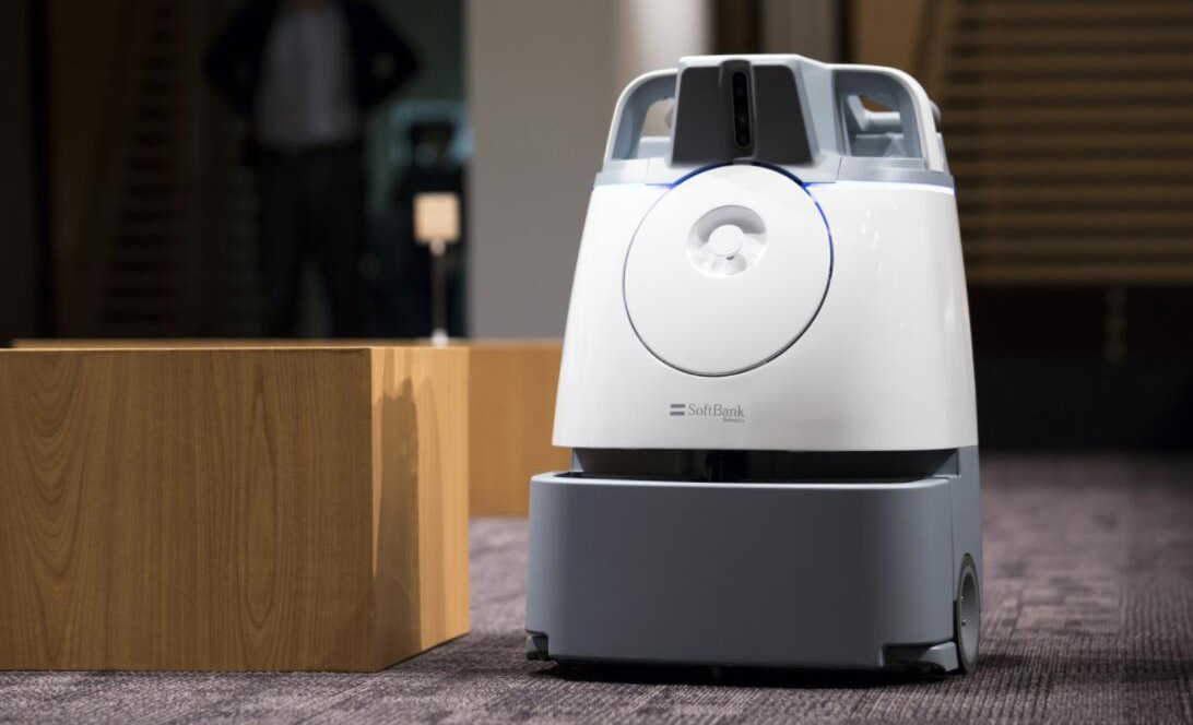 日本软银最新推出新一代扫地机器人Whiz