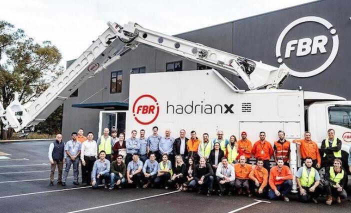 澳洲机器人三天盖好一座房 机械臂加装传感器实现自适应