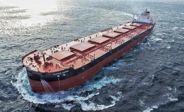 我国研发的全球最大智能船舶交付 安装有两千多传感器