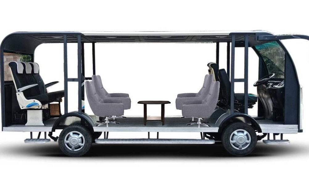 印度研发出低成本太阳能无人驾驶巴士